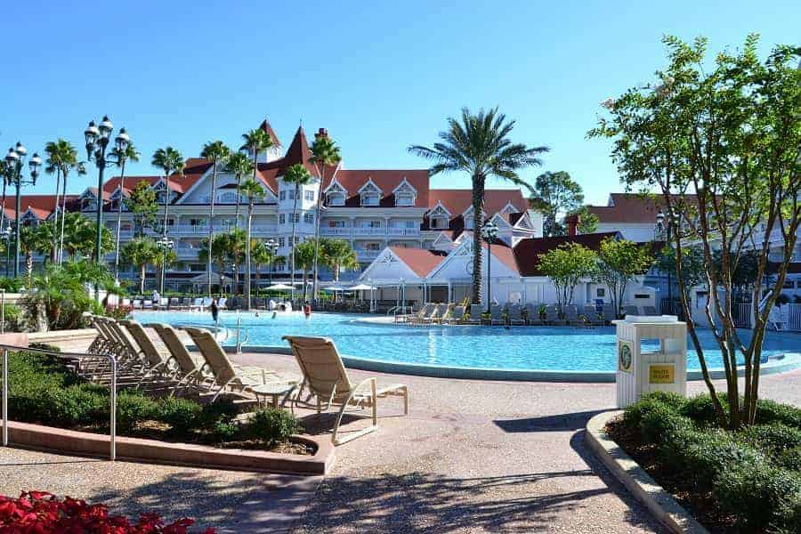 Grand Floridian Courtyard Pool