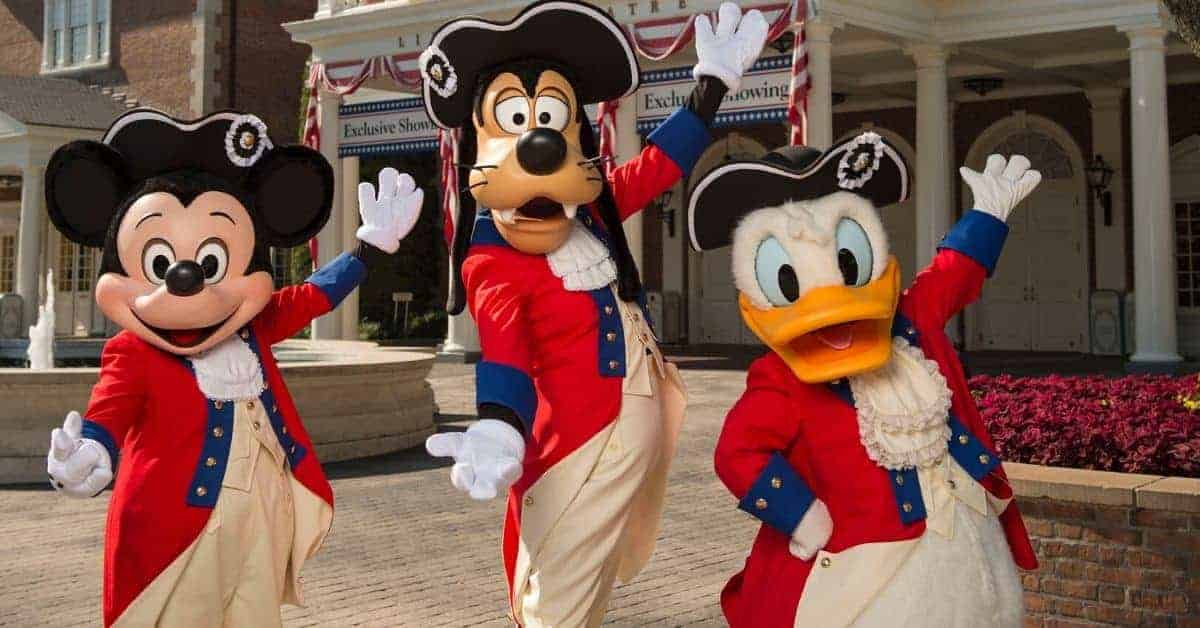 Disney Characters in July