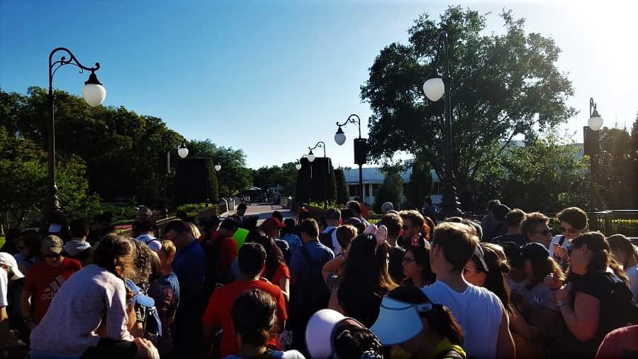 Disney World Crowds in June
