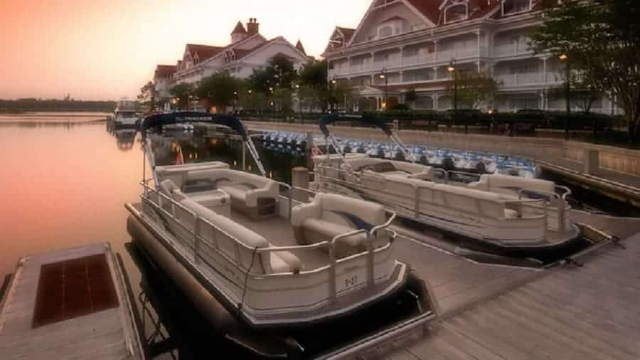 Boat Rentals at Grand Floridian