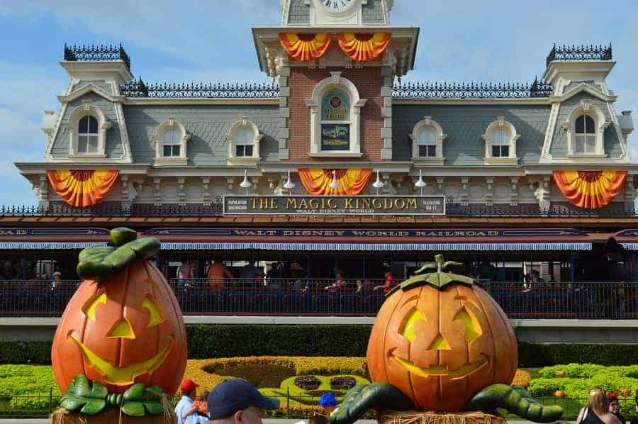 Magic Kingdom for Halloween