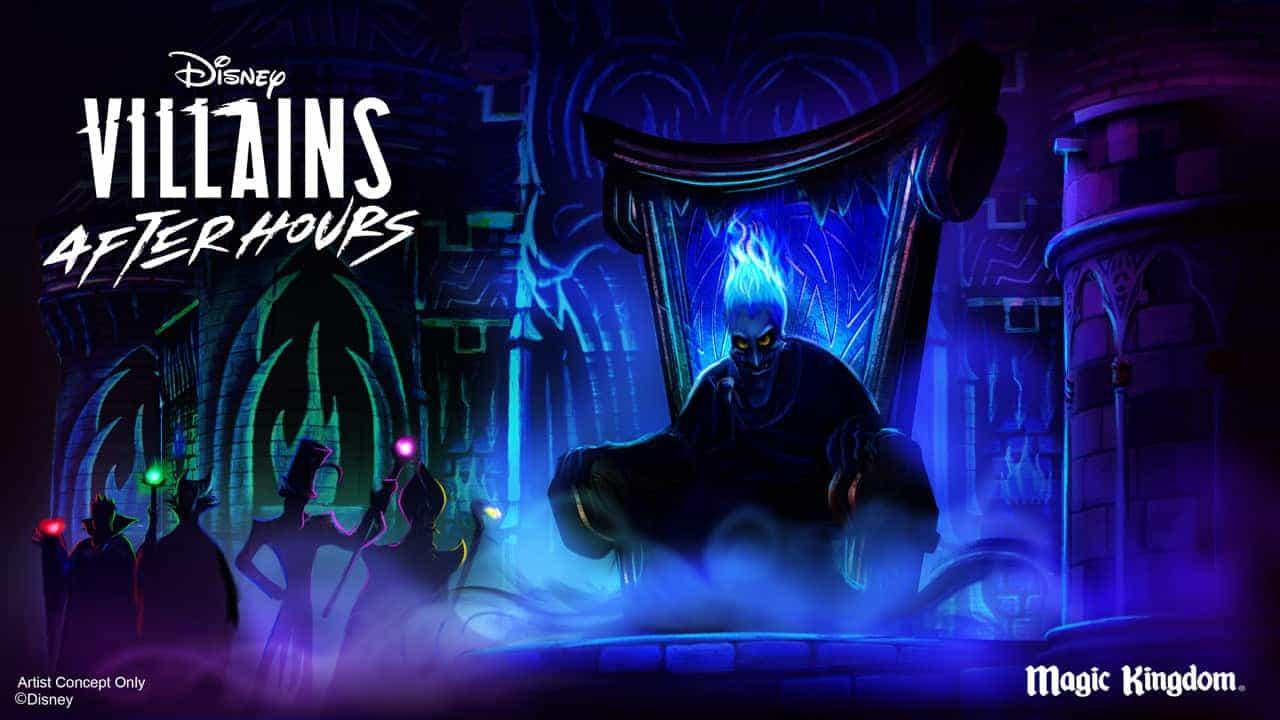 Villains after Hours at Magic Kingdom