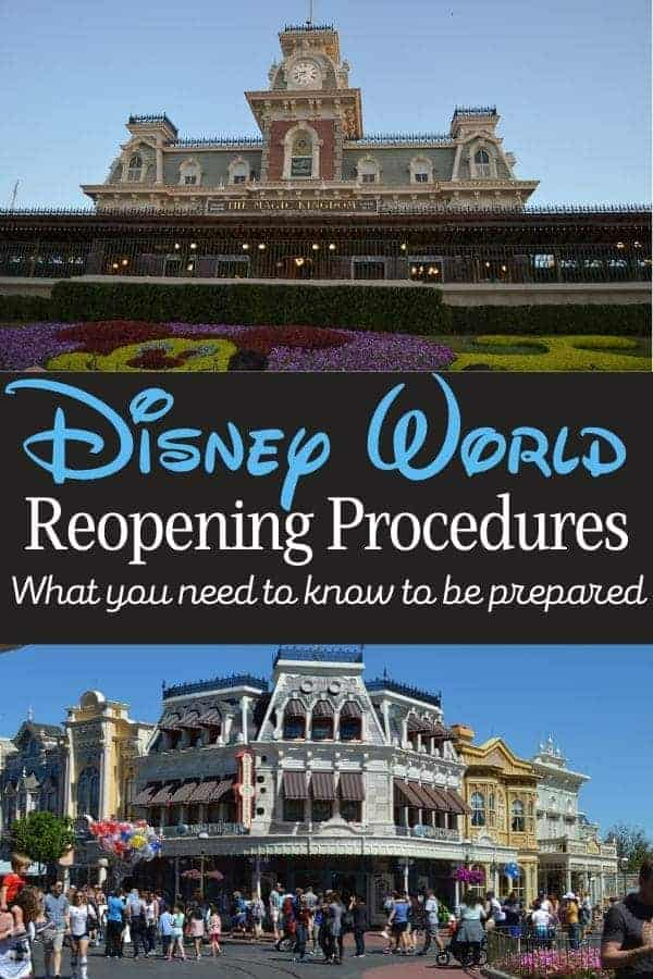 Disney World Reopening Procedures