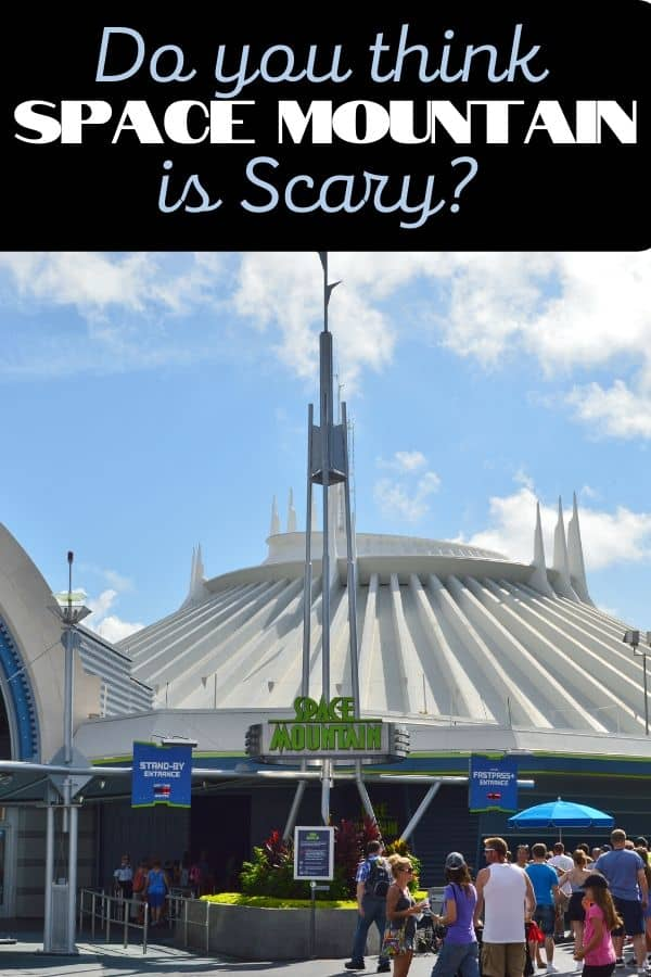 Is Space Mountain Scary?