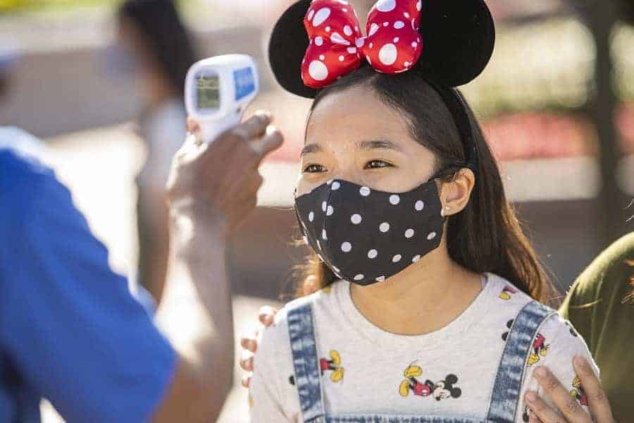 Disney World Temperature Screenings