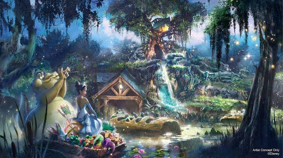 NEW Princess & the Frog Ride in Magic Kingdom