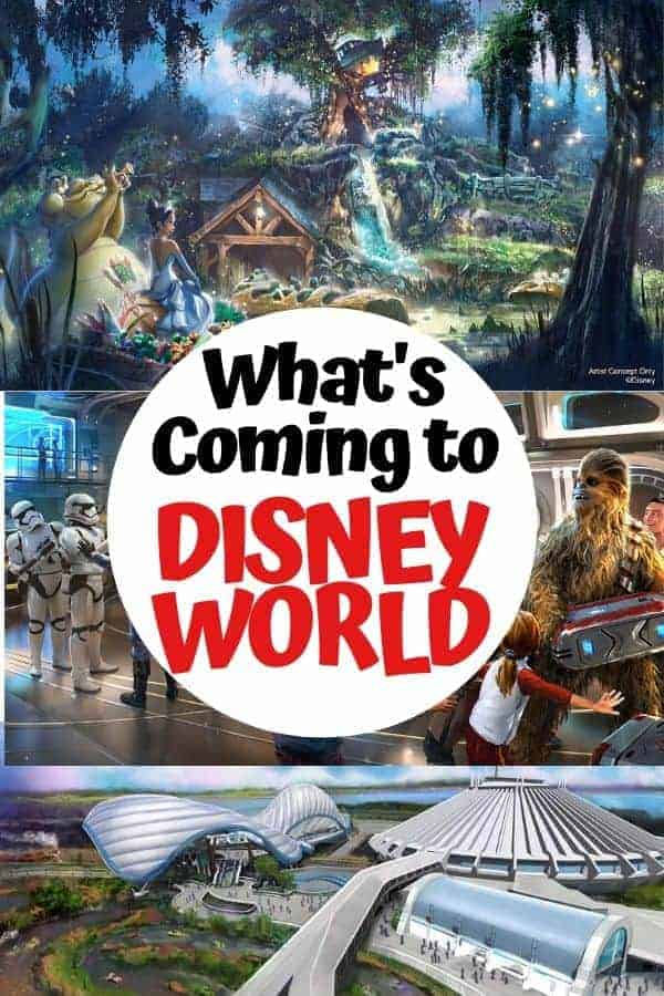 What's Coming to Walt Disney World