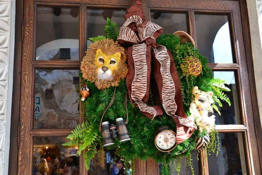 Animal Kingdom Christmas Wreath