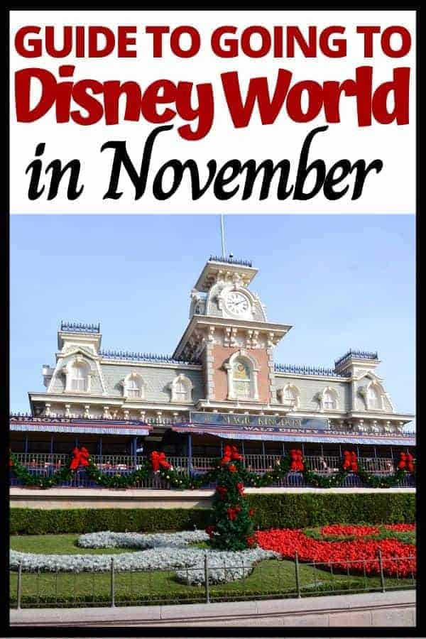 Going to Disney World in November