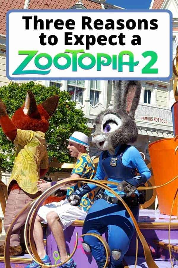 Three Reasons to Expect Zootopia 2