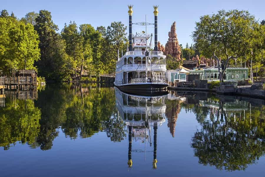Disneyland Steam Boat