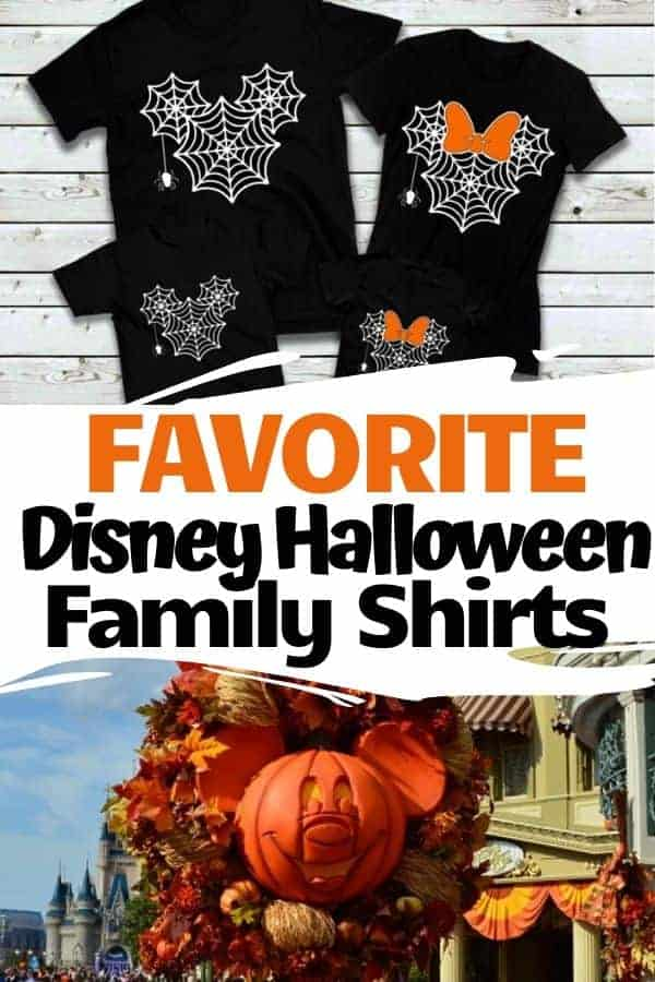 10 of Our Favorite Disney Halloween Family Shirts