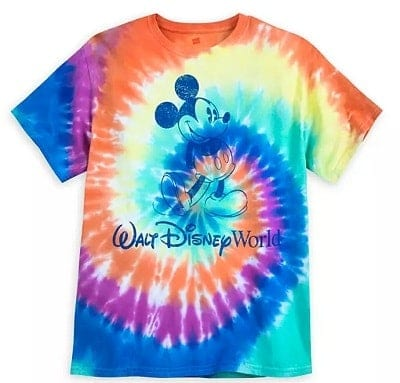 Disney World Tie Dye Shirt