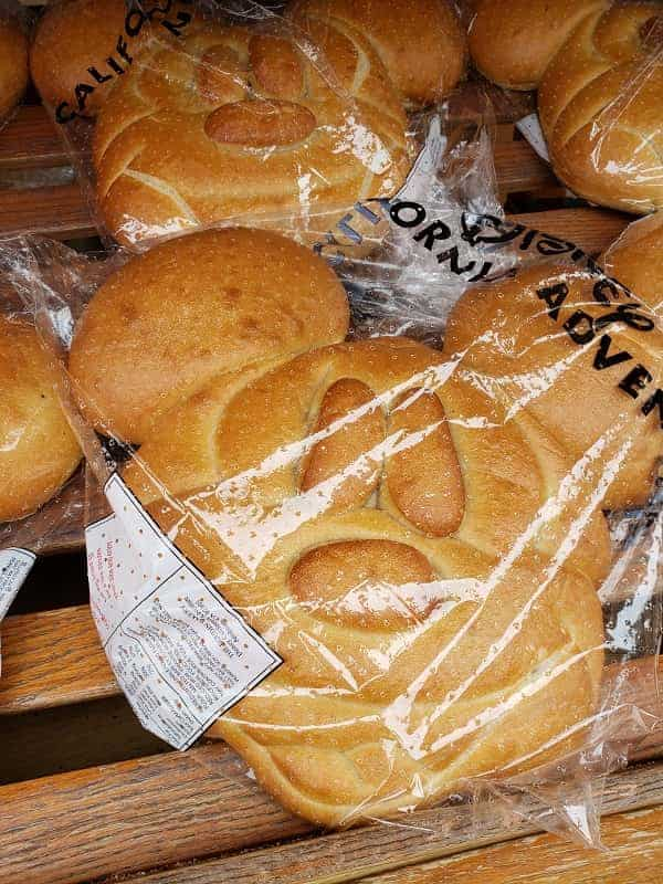 Mickey Mouse Sourdough Bread in Disneyland