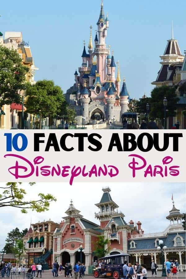 Facts about Disneyland Paris
