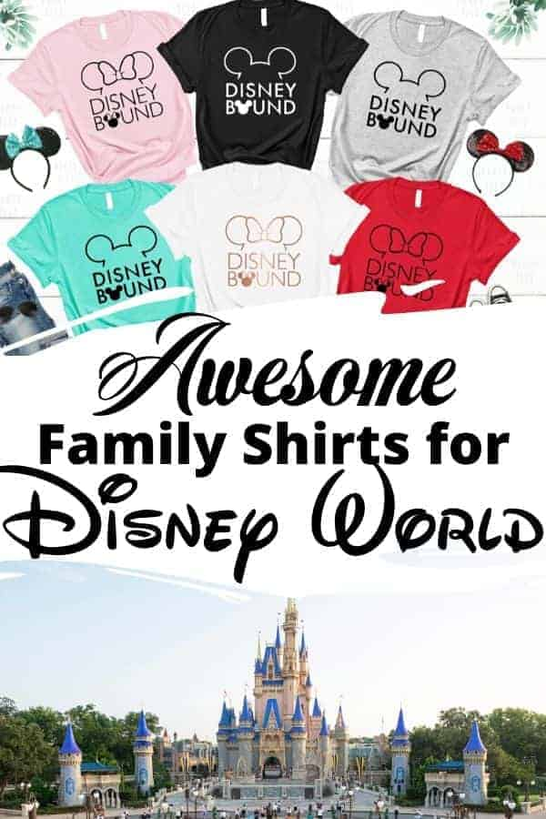 Family Shirts for Disney World