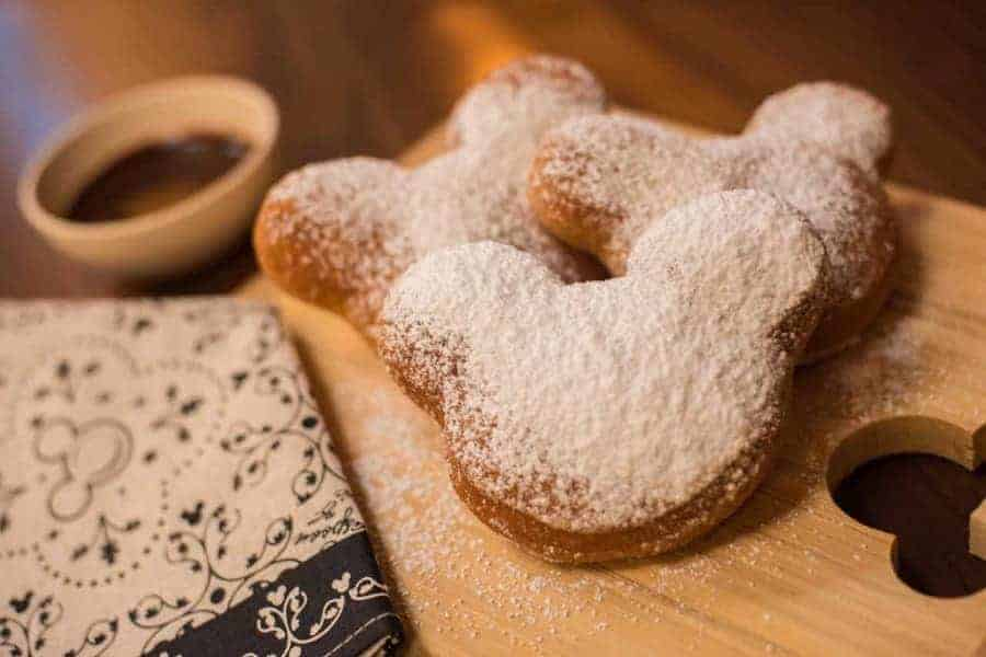 Mickey Beignets in Disneyland