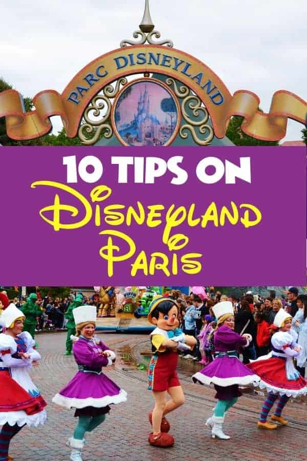 10 Tips on Disneyland Paris
