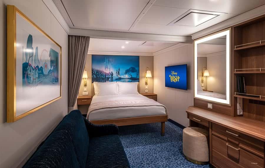 Disney Wish Interior Stateroom