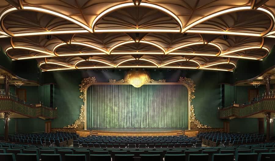 Walt Disney Theater on Disney Wish