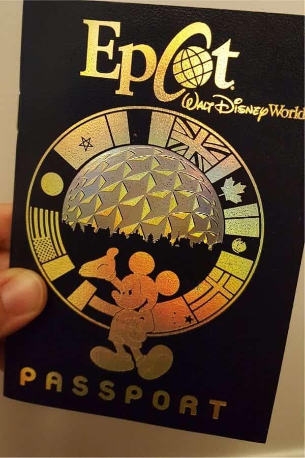 Epcot Passport at Disney World