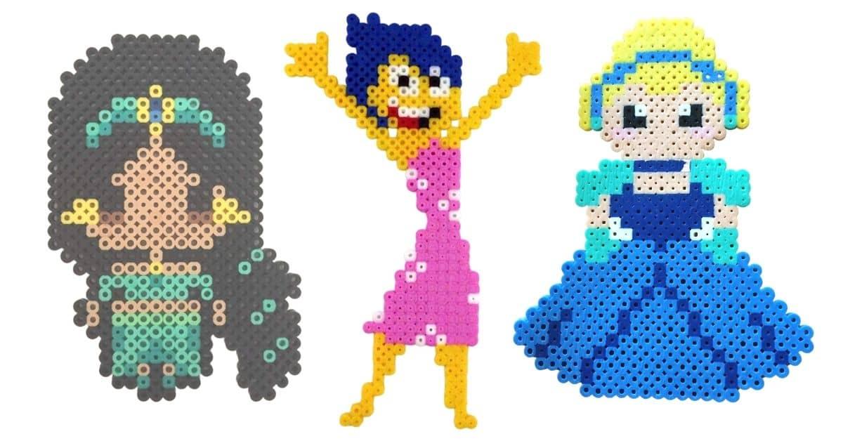 Disney Perler Bead Creations