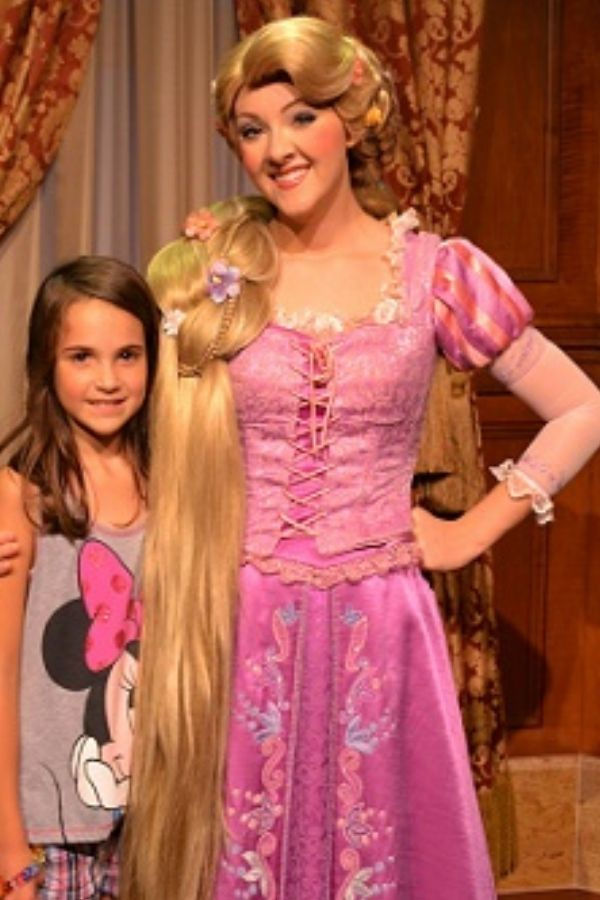 Rapunzel Meet & Greet in Magic Kingdom