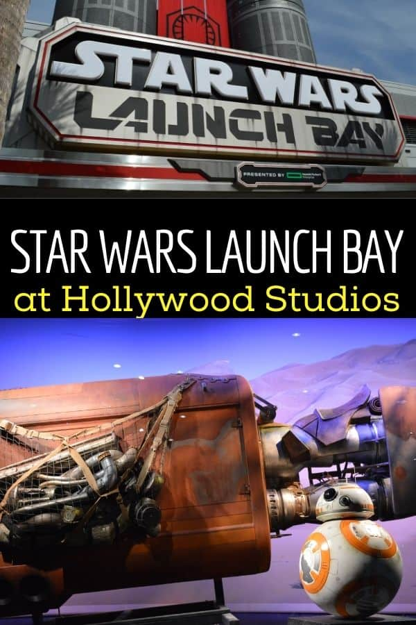 What You'll Find Inside Star Wars Launch Bay at Hollywood Studios