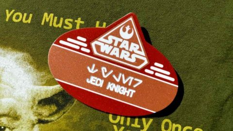 Star Wars Name Tag at Hollywood Studios