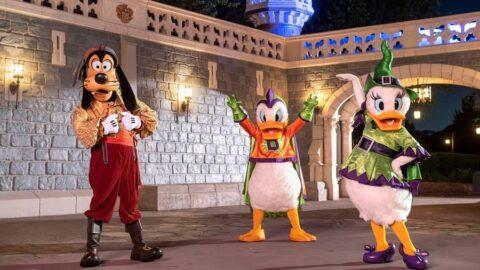 Disney World Halloween Characters