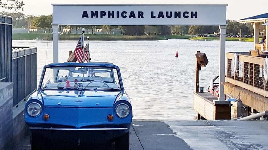 Amphicar Disney Springs