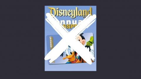 Disneyland Annual Pass Phases Out