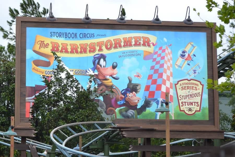 Barnstormer Magic Kingdom