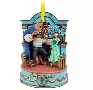 Belle & Beast Ornament