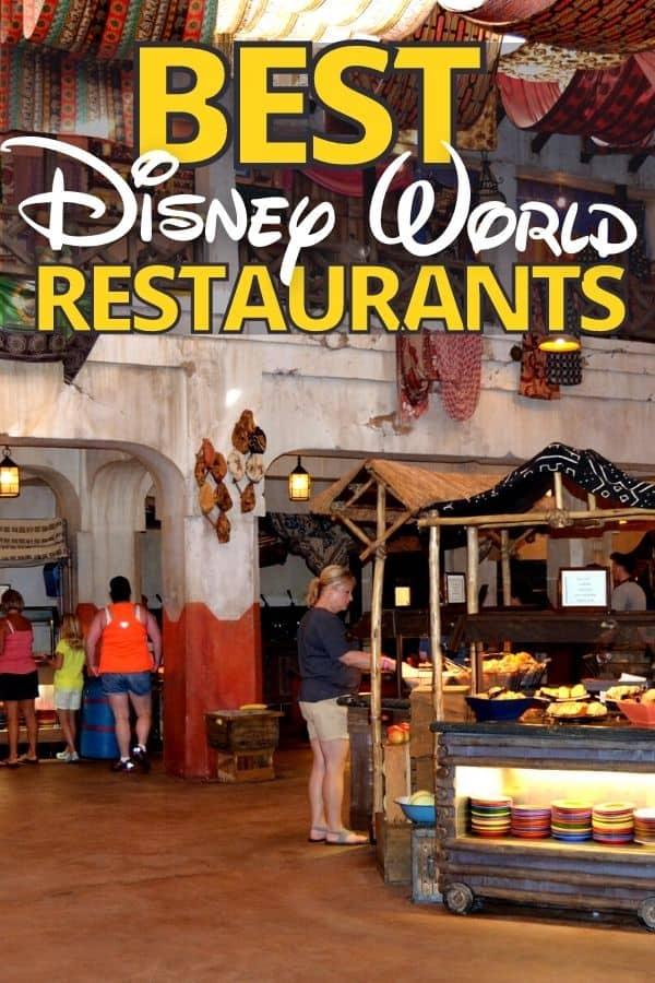 Best Disney Restaurants (in all 4 Parks)