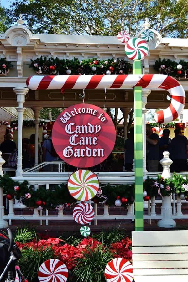 Candy Cane Garden in Magic Kingdom