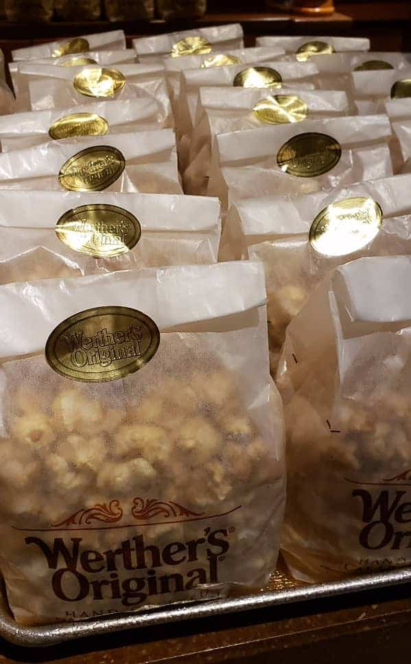 Caramel Popcorn at EPCOT