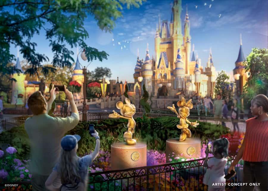 Disney Character Sculptures