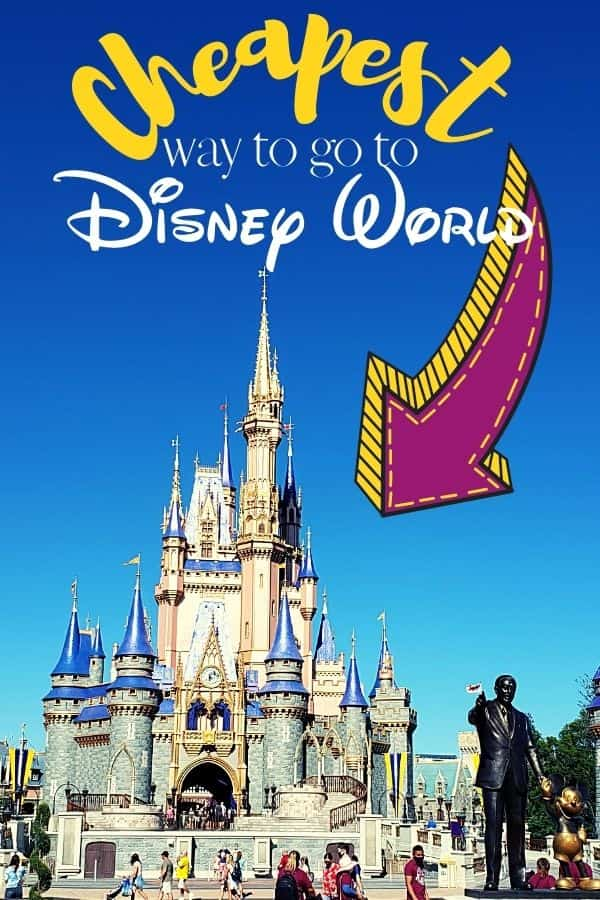 Cheapest way to go to Disney World