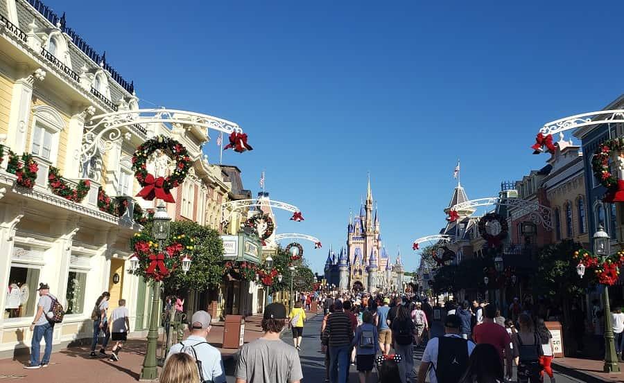 Christmas on Main Street USA