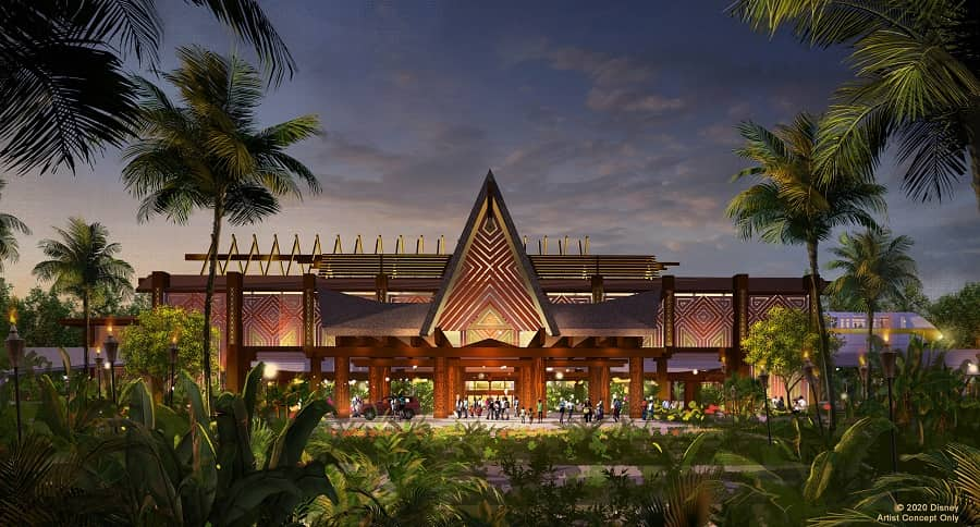 Polynesian Custom House Rendering