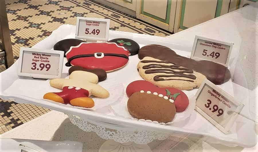 Types of cookies at Disney