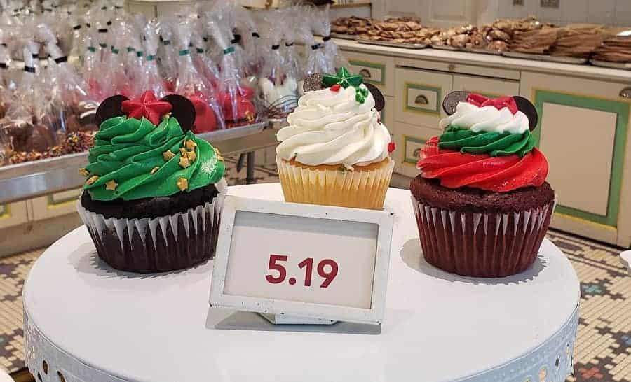 Disney Cupcakes for Christmas 2020
