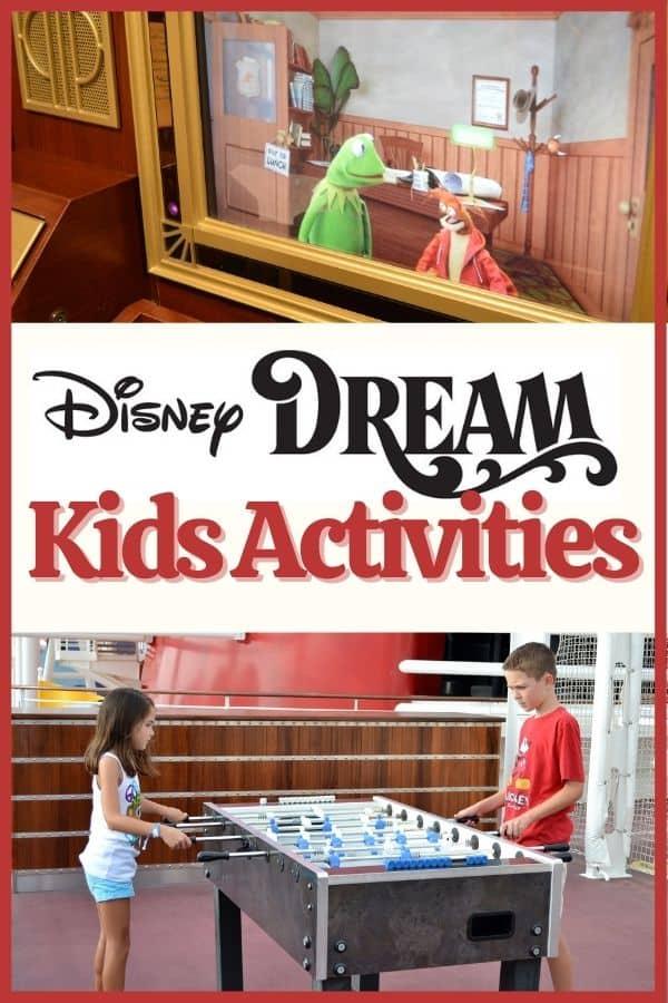 Disney Dream Activities for Kids