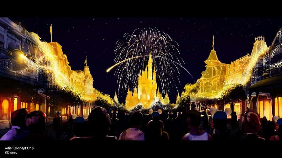 Magic Kingdom 50th Anniversary Show