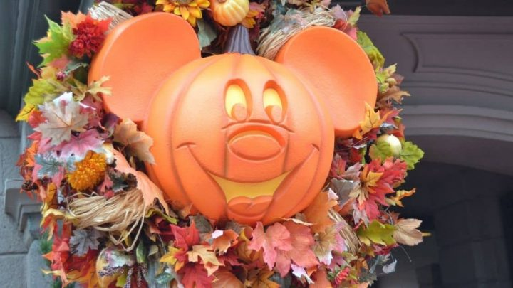 Disney Halloween Wreath