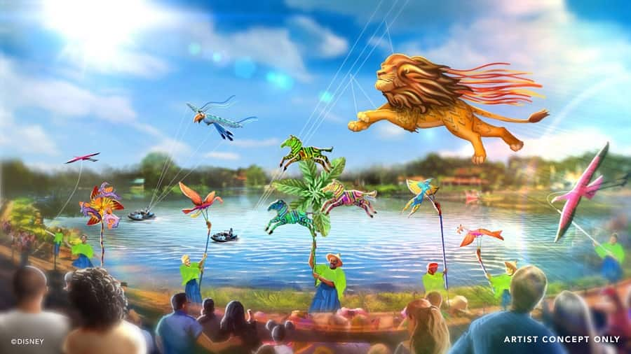 Disney Kitetails at Animal Kingdom