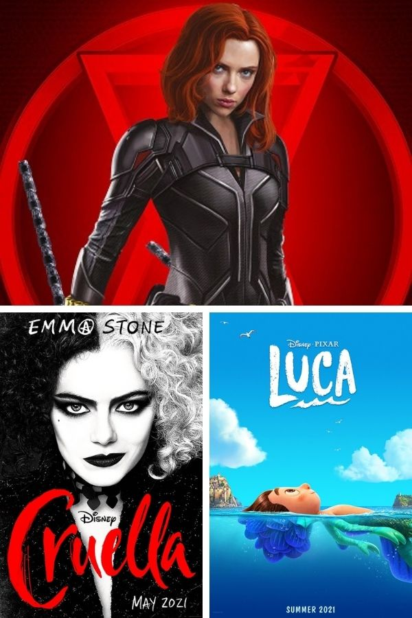 NEW Disney Movies Coming Out in 2021