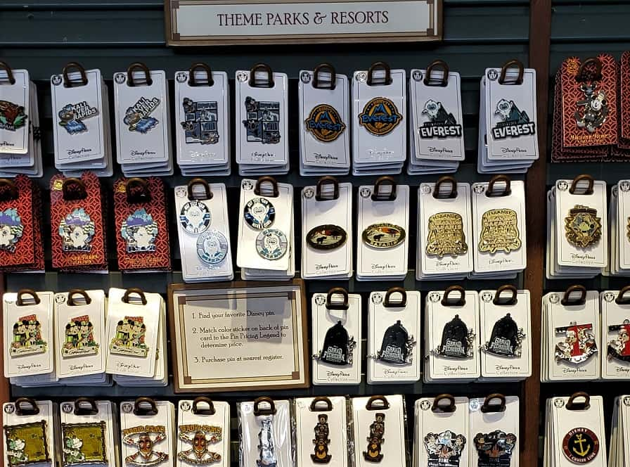Disney Pin Categories at Pin Traders
