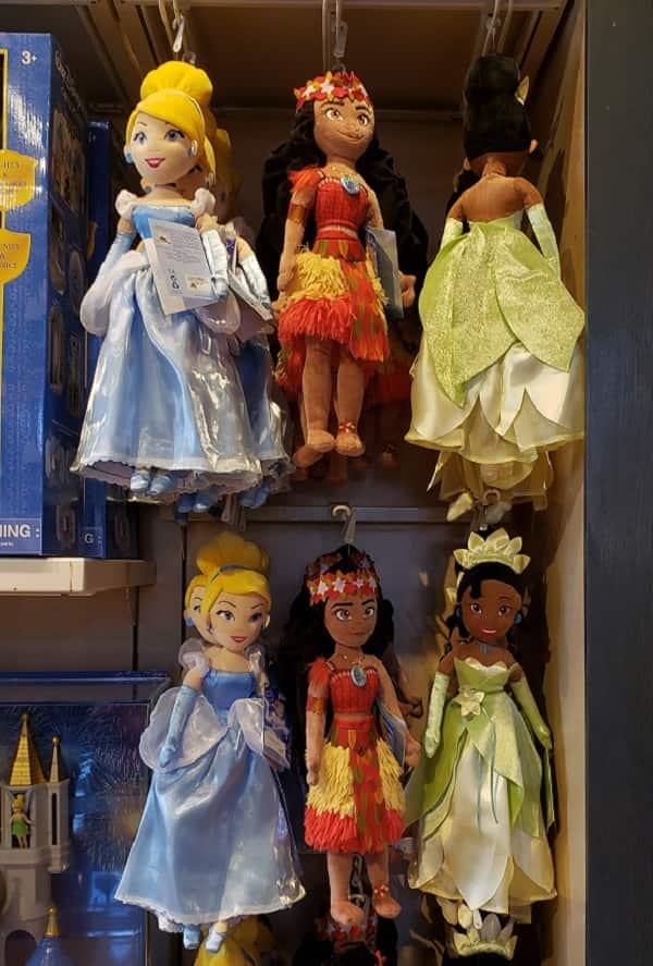 Disney Princess Plush Dolls